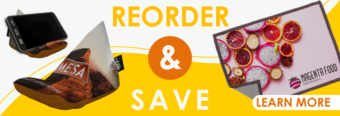Wedge and Cloth Reorder Campaign Banner Image