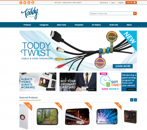 Visit Toddy Gear - Promotional Website
