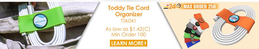 Toddy Tie Cord Organizer