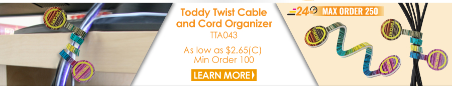 Toddy Twist Cable and Cord Organizer