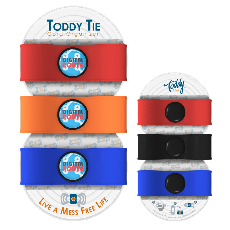 Toddy Tie Cord Organizer (Triple Pack)