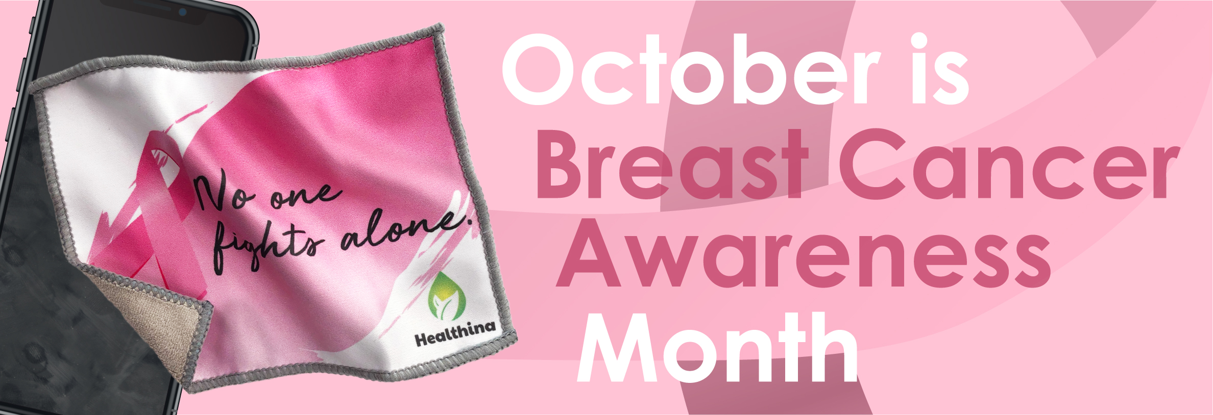 Breast Cancer Awareness Month Banner Image
